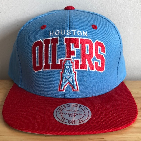 Mitchell   Ness NFL Houston Oilers Hat 3031a52dac0a